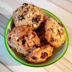 cookies-mit-sultaninen-und-kokosflocken